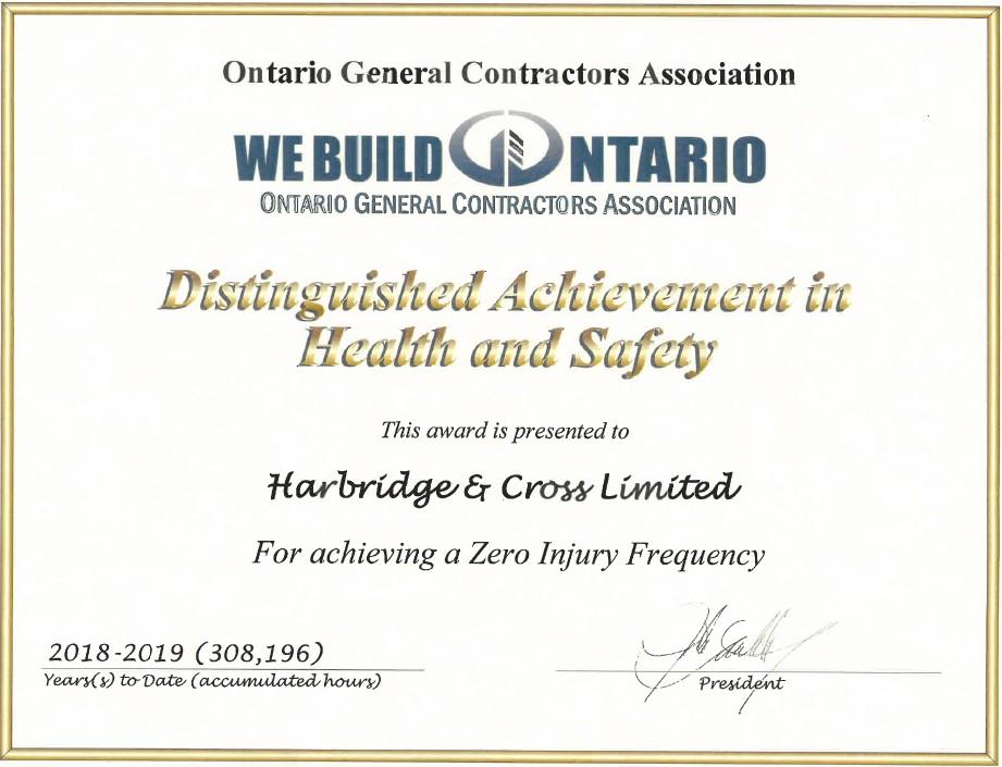 OGCA Certificate