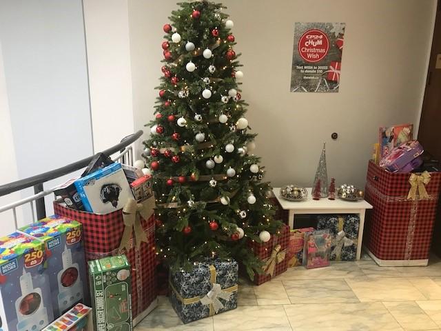 Harbridge Cross Toy Drive CP24 CHUM Christmas Wish